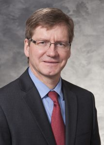 Department Chair Dr. Andreas Friedl